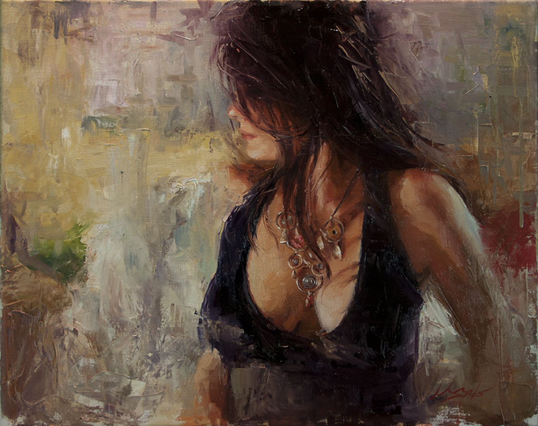 paintings of women matt abraxas
