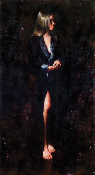 Robe48x26, Oil on LinenAvailable at SmithKlein Gallery