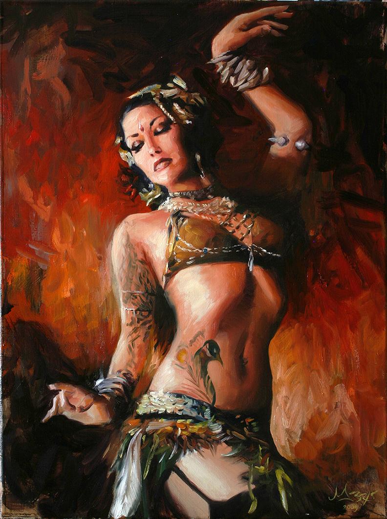 Paintings of Women Matt Abraxas Fine Art For Sale