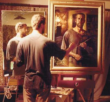 Painting the Self Portrait: Matt Abraxas