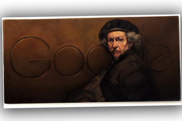 Rembrandt Google Doodle