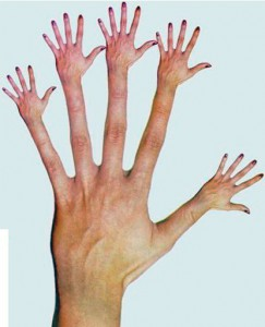How to paint hands and how to draw hands realistically