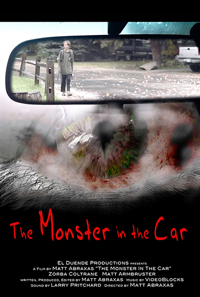 Monster in the Car Movie Poster - Matt Abraxas